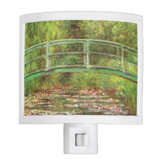 Bridge Over Water Lilies by Monet Night Lites