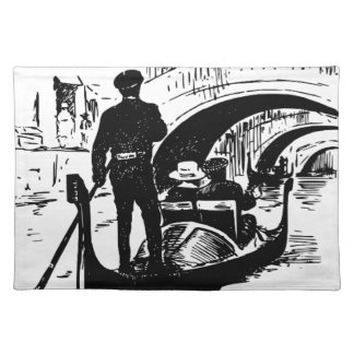 bridge placemat