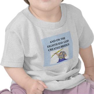 bridge player joke shirt