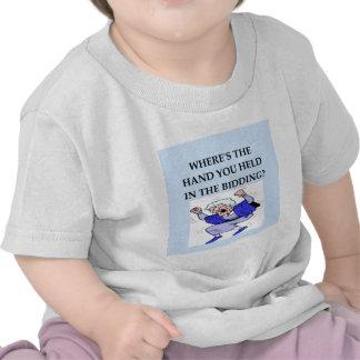 bridge player joke t shirt