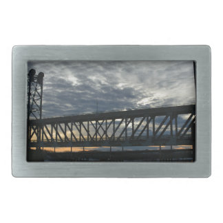 Bridge Rectangular Belt Buckle