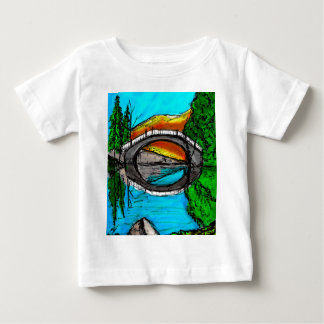 Bridge Reflection Marker #2 Colored Baby T-Shirt