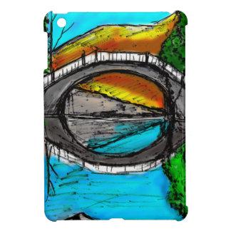 Bridge Reflection Marker #2 Colored iPad Mini Cover