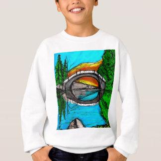 Bridge Reflection Marker #2 Colored Sweatshirt