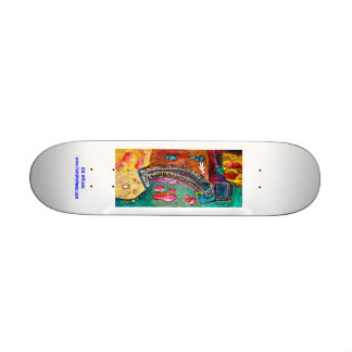 Bridge Scene Ashesha s Fairytale Skateboard