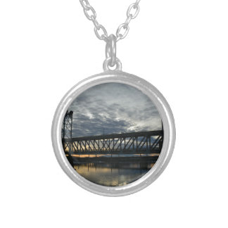 Bridge Silver Plated Necklace