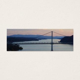 Bridge Sunset Geocache Signature/Calling Card