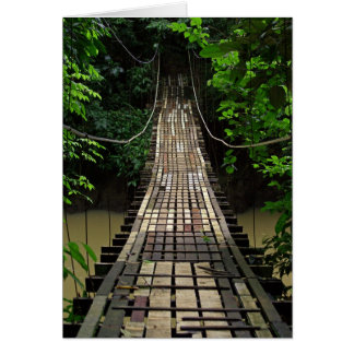 Bridge to Jurassic Park Greeting Card