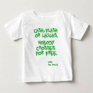 Bridge Trolls Baby T-Shirt