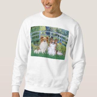 Bridge - Two Papillons Sweatshirt