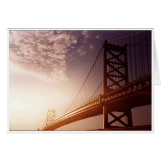 Bridge with Bright Sky Card