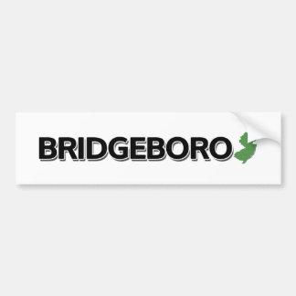 Bridgeboro, New Jersey Bumper Sticker