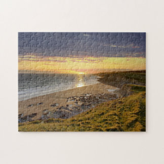 Bridgend Beach Wales Jigsaw Puzzle