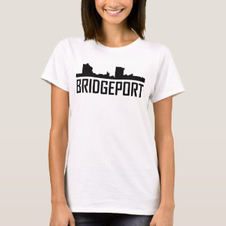 Bridgeport Connecticut City Skyline T-Shirt