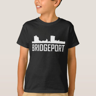 Bridgeport Connecticut City Skyline T-Shirt