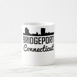 Bridgeport Connecticut Skyline Coffee Mug