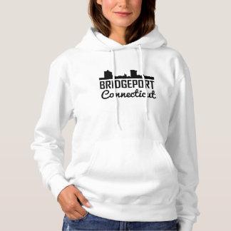 Bridgeport Connecticut Skyline Hoodie