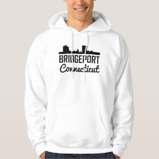 Bridgeport Connecticut Skyline Hoodie