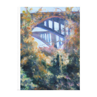 Bridges from the Arroyo Seco Canvas Print