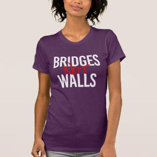 Bridges Not Walls - Human Rights - - white - T-Shirt