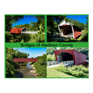 Bridges of Madison County Postcard
