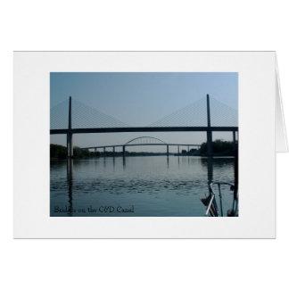 Bridges on the C&D Canal Card