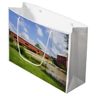 Bridgeton Bridge And Mill Large Gift Bag