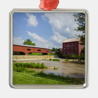 Bridgeton Bridge And Mill Metal Ornament