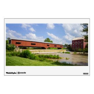 Bridgeton Bridge And Mill Wall Sticker