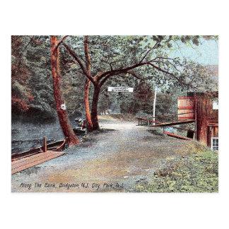 Bridgeton, New Jersey, City Park, Vintage Postcard