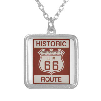 BRIDGETONMO66 SILVER PLATED NECKLACE