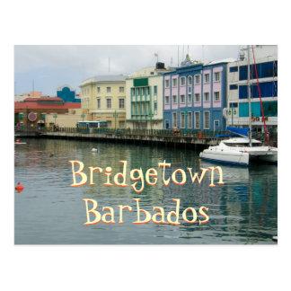 Bridgetown, Barbados Postcard