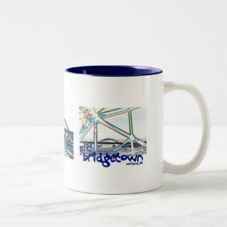 Bridgetown Mug, Portland Oregon Two-Tone Coffee Mug