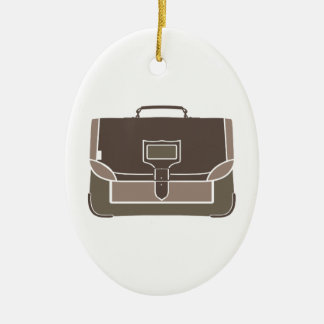Briefcase Ceramic Ornament