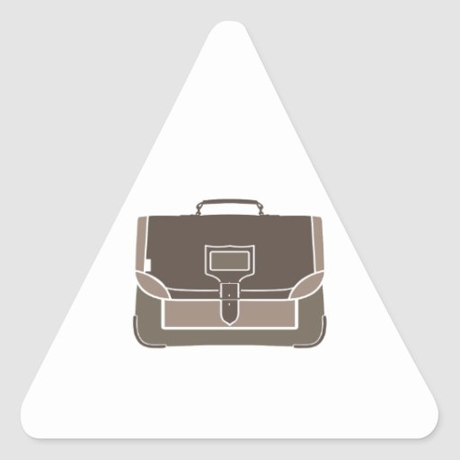Briefcase Triangle Stickers