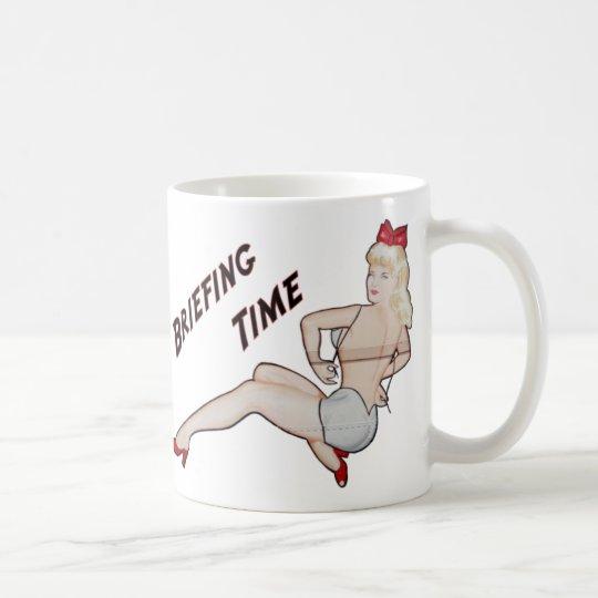 Briefing Time Mug