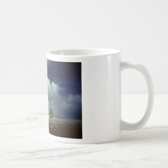 Brig Mercury after the Victory over Turkish Ships. Coffee Mug