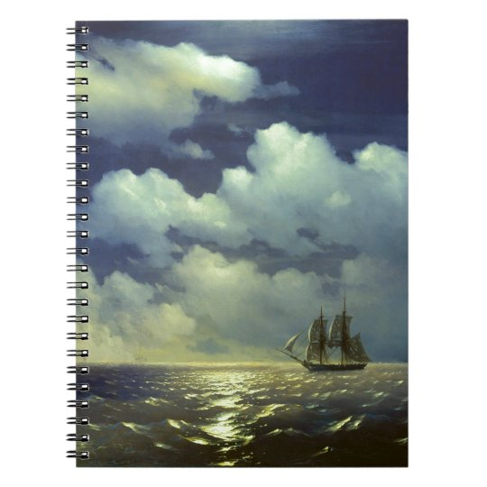 Brig Mercury after the Victory over Turkish Ships. Notebook