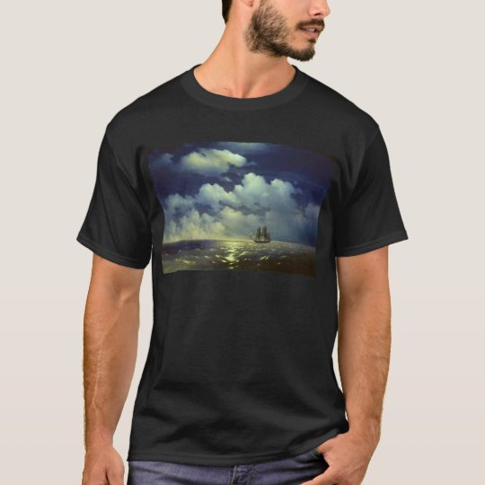 Brig Mercury after the Victory over Turkish Ships. T-Shirt