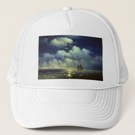 Brig Mercury after the Victory over Turkish Ships. Trucker Hat