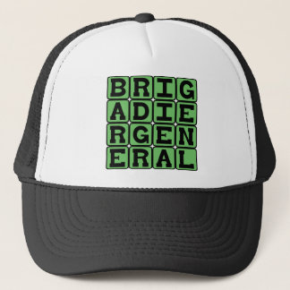 Brigadier General, Military Leader Trucker Hat
