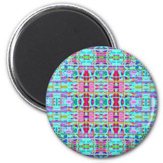 Brigadoon Plaid No. 2 2 Inch Round Magnet