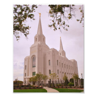 Brigham City LDS Temple Photo Print