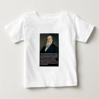 Brigham Young on Guns Baby T-Shirt