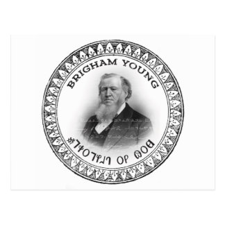 Brigham Young Prophet of God Collector Edition! Postcard