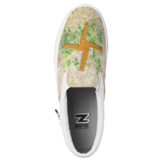 Brighid Cross Slip-On Sneakers