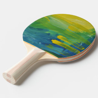 Bright accent. Ping Pong Paddle