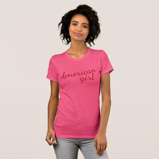 Bright American girl T-Shirt