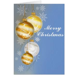 Bright and Cheerful Christmas Holiday Card