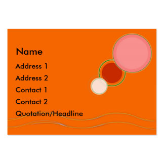 Bright  and Cheery Business Card Templates